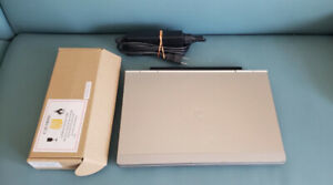 HP 2570p i5 /W10/Webcam/Bluetooth/500GB/6 ram- new battery