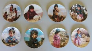 The proud Nation  - Set of 8 Numbered Collector Plates