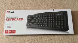 Trust Spill resistance keyboard