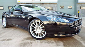 2007 Aston Martin DB9 Coupe 6.0 V12 Touchtronic Onyx Black Pearl Great Example!
