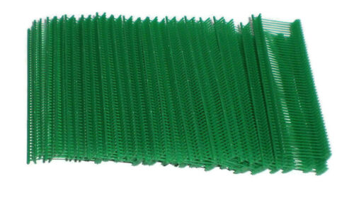 """1000 Green 1"""" Clothing Garment Price Label Tagging Tagger Gun Barbs Fasterners"""