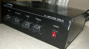 Speco Technologies P. A. Amplifier PBM - 30