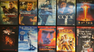 Various Action DVDs
