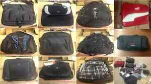 WHOLESALE LOT OF LAPTOP BAGS, BACKPACKS, CAMERA BAGS & MUCH MORE