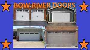 16x7 garage door installed NEW