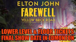 FINAL NIGHT  ✯ Elton John Rogers Place, SAT Sep 28 8PM ✯✯