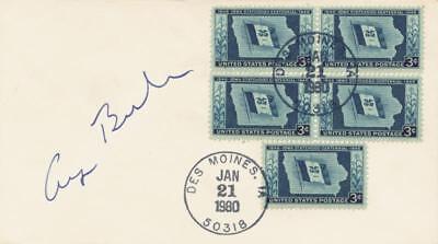 George H W  Bush   Envelope Signed Circa 1980