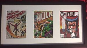 Framed comic covers and super heroes  Kingston Kingston Area image 2