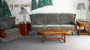 Couch, rocking swivel chair