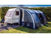 leisurewise Ontario 390 awning caravan