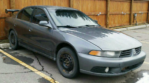 2003  Mitsubishi Galant Grey  Sedan