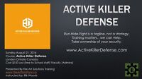 Free course for teachers and school staff..self defense.