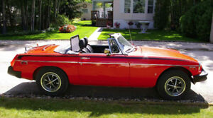 The one you've been hoping to find!    1978 MGB  Roadster