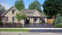3 year old custom Bungalow backing onto Conservation area