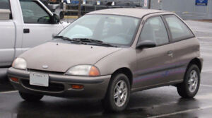 Looking to purchase a Geo Metro/ Suzuki Swift/ Pontiac Firefly