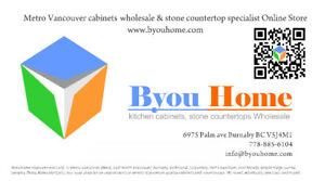 Kitchen Cabinet & Stone Countertops WholeSale @byouhome.com