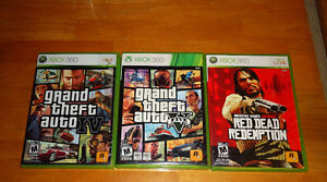 grand theft auto 5 &4 red dead redemption