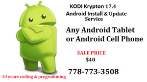 KODI Krypton 17.6 Install jailbreak for Android tablets & Phones