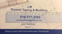 J.M Drywall taping & Mudding