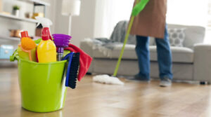 Accepting propositions of service : cleaning person