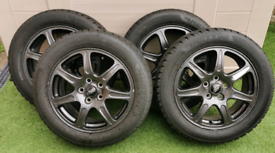 "4 x Genuine Jaguar 16"" Alloys"