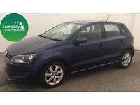 £120.91 PER MONTH (60 REG) VW POLO 1.6 TDi CR 75 SE HATCHBACK MANUAL DIESEL