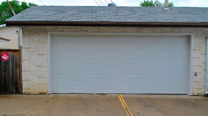 Heated Double Garage - Makes A Great Workshop