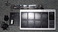 Roland Octapad II with stand and sound module for sale $200