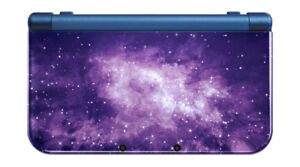 Nintendo 3DS XL with clear case