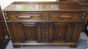 Beautiful Antique Oak Buffet