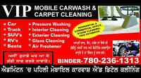 vip mobile carwash and carpet cleaning services