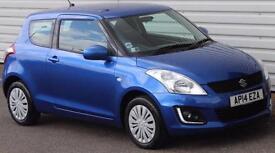 Suzuki Swift 1.2 SZ2 Petrol Manual 3 Door Hatch Blue Metallic 2014
