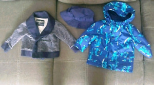 Baby Boy Outdoor Clothes (0-6 Months)