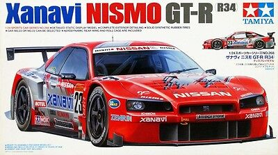 Tamiya 24268 1/24 Model Car Kit Xanavi Nismo Nissan Skyline GT-R R34 '03 JGTC for sale  Shipping to United States