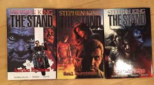The Stand Graphic Novels 1-3 Strathcona County Edmonton Area image 1