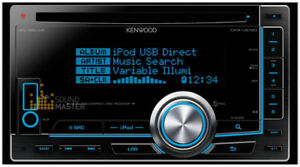 Kenwood DPX Double DIN In-Dash USB/CD Receiver