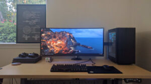 """ASUS ROG SWIFT PG348Q 34"""" Curved 21:9 3440x1440 IPS 100Hz G-SYNC"""
