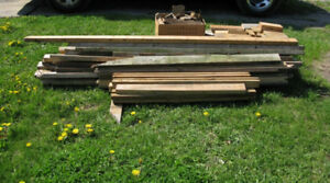Free Used Wood 2x4s and end cuts