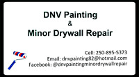 DNV painting and Minor Drywall repair