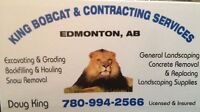King Bobcat services