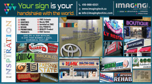 SIGNS, GRAPHICS, PRINTING & DESIGN - ONE STOP MARKETING SOLUTION