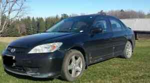 04 Civic Si 5 speed PARTS CAR ONLY