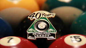 Looking for players for the Metro Pool League!
