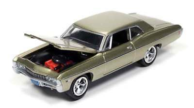 1/64 JOHNNY LIGHTNING MUSCLE SERIES 2 1968 Chevrolet Impala in Ash Gold