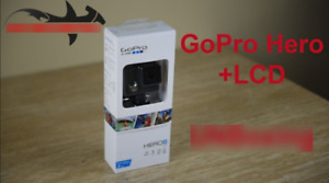 GoPro Hero + LCD - Brand new in box - with receipt