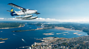 4 One-Way Harbour Air Turbo Tickets