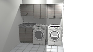 Laundry Room Cabinets, Cupboards,Storage