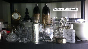 New & Barely used staging items