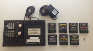 1982 Colecovision console + games - excellent condition