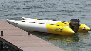 Inflatable Power Boat, For Fishing, Diving, Leisure, Racing